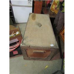 Antique Cedar Trunk