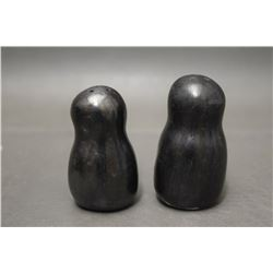 SANTA CLARA POTTERY SALT AND PEPPER SHAKERS