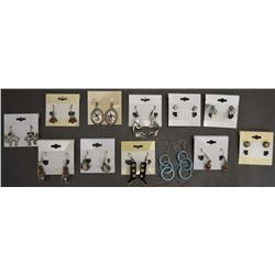 COLLECTION OF NAVAJO EARRINGS