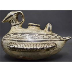 ANASAZI STYLE POTTERY DUCK (FREEMAN)
