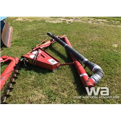 "WESTFIELD 6"" TAILGATE DRILL FILL AUGER"