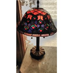 Leaded Style Table Light