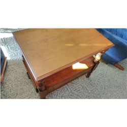 Solid Maple Lamp / Table