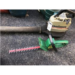 Craftsman Blower & Weed Eater Trimmer