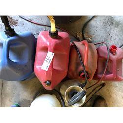 Asstd. Gas Cans