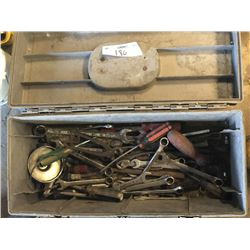 Large Tool Box w/ Asstd. Wrenches and Other Tools