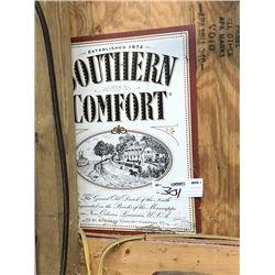 Southern Comfort Tin Sign