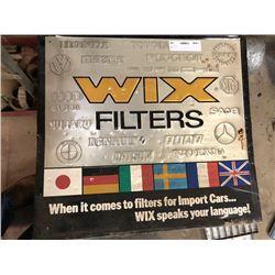 WIX Filters Tin Sign (2)