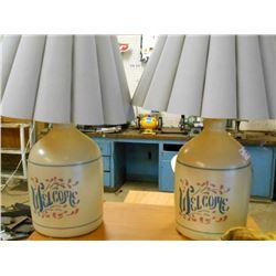BUNDLE LOT: Assorted Table Lamps