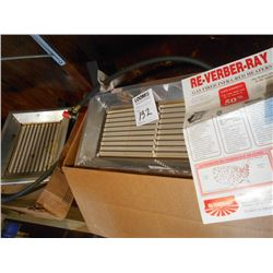 Re-Verber-Ray Gas Fired Infa-Red Heaters NEW