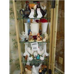 Asstd. Ceramic, Porcelain, Glass Items