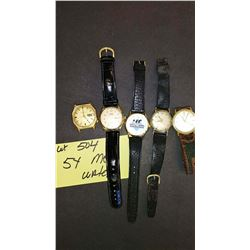 BUNDLE LOT: MEN'S WATCHES AND ACCESSORIES