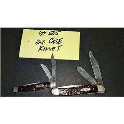 2 Case Knives