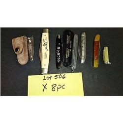 6 Pocket Knives