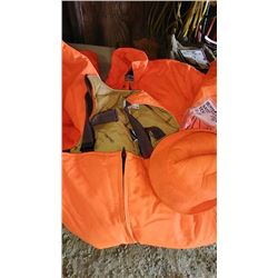Insulated Hunting Coveralls, Bibs and Hat