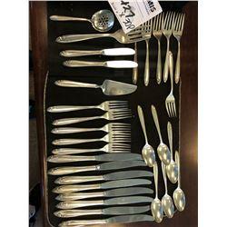 58 OZ Total /Sterling Silver Serving Set X 30 Pcs