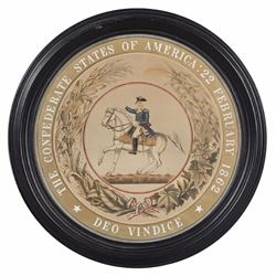 Confederate States Of America Seal, 20th C.