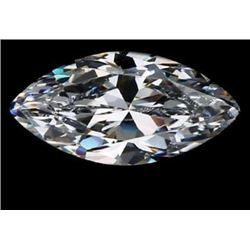 4ct Marquise Shape BIANCO Diamond