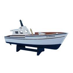 "Wooden Gilligan's Island - Minnow Model Boat 14"""