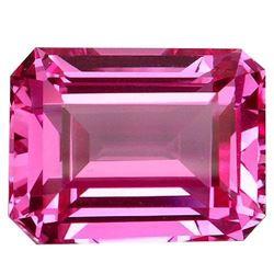 26.8ct. Pink Topaz Emerald