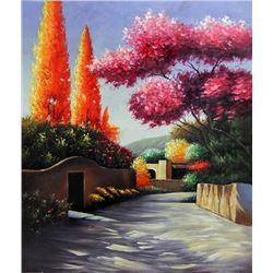 Student of Torrez, Spanish Landscape Oil Painting