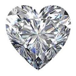 10.79cts Heart Shaped Bianco Diamond 6AAAAAA Loose