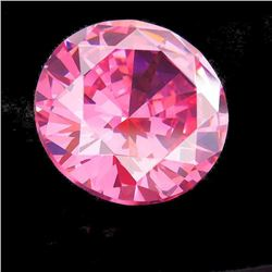 50.35ct Aaa+ Pink Bianco Diamond Round Gem 20 Mm