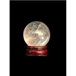 Natural Quartz Crystal Miniature Sphere Scrying Ball