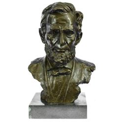 Large Limited Edition Abraham Lincoln USA President Bronze Sculpture Statue
