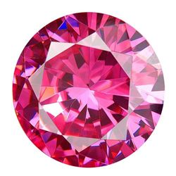 97.80 Cts Aaa+ Pink Bianco Diamond Round Gem 25mm