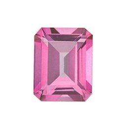 9.5ct Natural Pink Topaz Octagon Faceted Gemstone