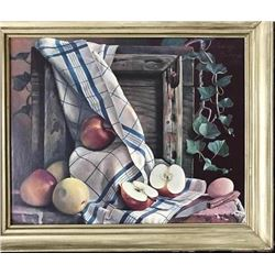 After Bruckman, Fruit Still Life Mechanical Print