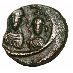 Heraclius-with-heraclius-constantine-610-641-e-12-nummi-18mm-5-31-gm-alex Heraclius-with-heraclius