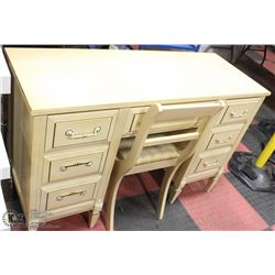 VINTAGE WRITING DESK WITH CHAIR