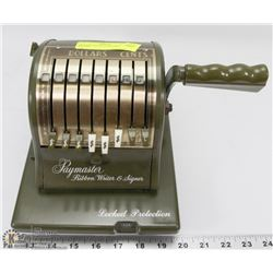 VINTAGE PAYMASTER CHEQUE WRITER