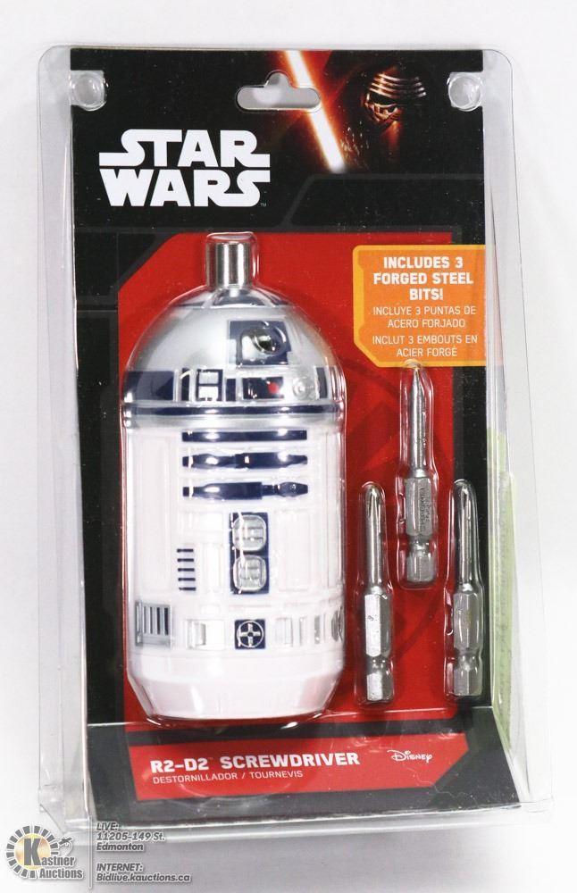 new star wars r2d2 screwdriver set incl 3 forged