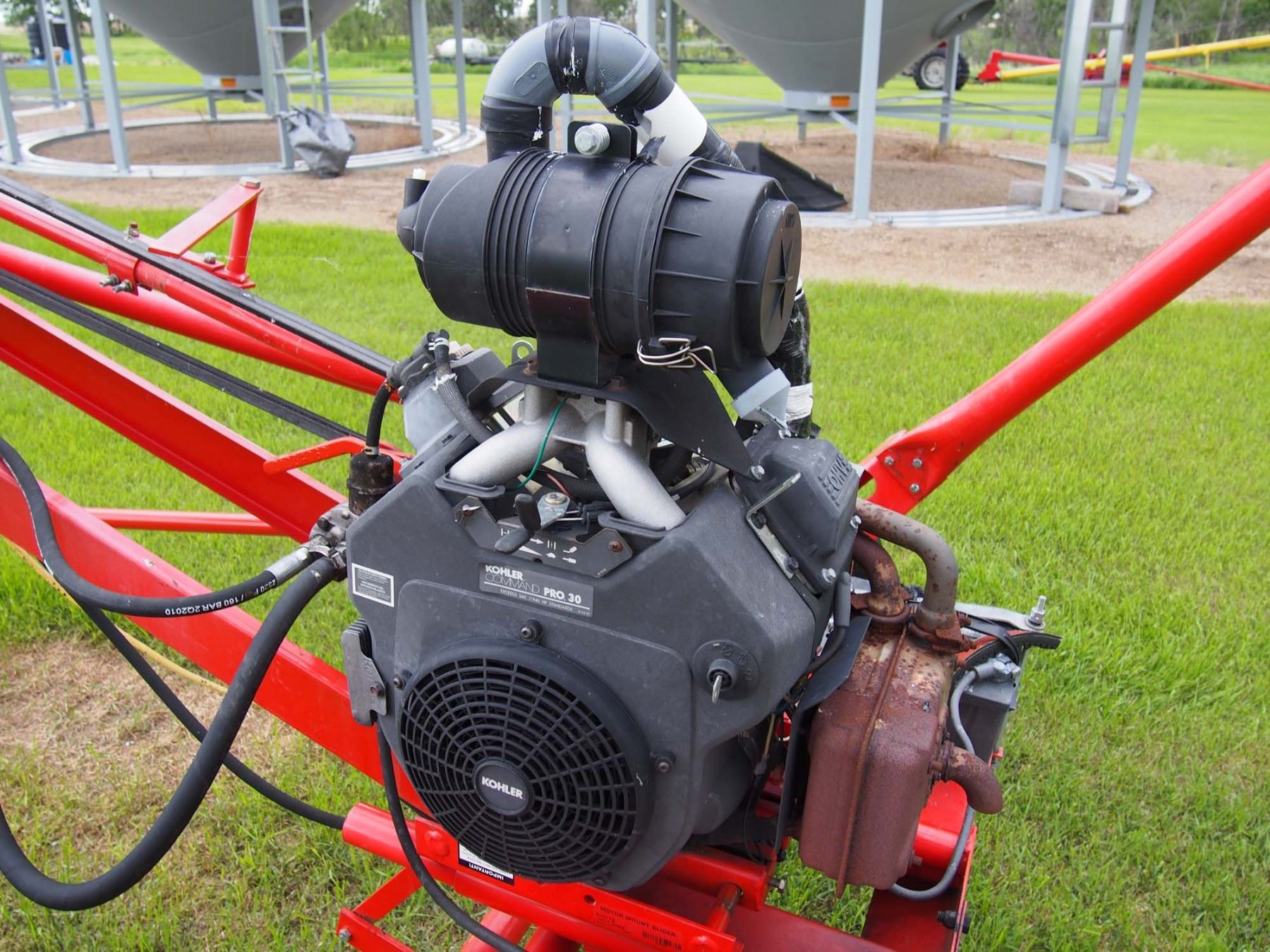 2013 Westfield TF 80-51 Auger, 30HP Koller Engine W/ Mover