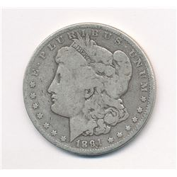 1891 $1 MORGAN SILVER DOLLAR RARE MINT ERROR (SEE DATE) ML1