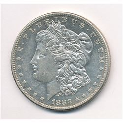 1883-S $1 MORGAN SILVER DOLLAR BEAUTIFUL PROOF-LIKE SURFACES ML1
