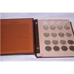 1964-2006 KENNEDY SILVER & PROOF SILVER HALF-DOLLARS IN DANSCO ALBUM (138 COINS)