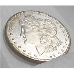 FROSTED CAMEO PROOF-LIKE RARE MORGAN 1899-S MS 64 PL