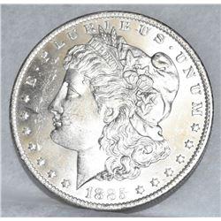 1885 NEW ORLEANS MORGAN SILVER DOLLAR MANDY SILVER DOLLAR SPECIAL MS 63