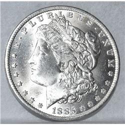 1885-O NEW ORLEANS MORGAN SILVER DOLLAR MANDY SILVER DOLLAR SPECIAL MS 64