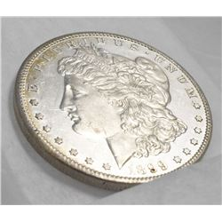 FROSTED CAMEO PROOF-LIKE RARE MORGAN *1899-S MS 64 PL QUALITY*