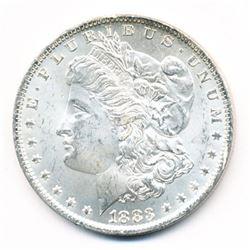 1883-O MORGAN SILVER DOLLAR 63 GRADE QUALITY