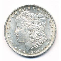1896 MORGAN SILVER DOLLAR 63 GRADE QUALITY