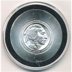 2013 Indian Head Centennial 1 Troy Ounce Silver Round (1913 Buffalo Nickel)