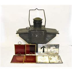 RARE WORLD WAR II SIGNAL LANTERN
