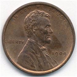 1909 VDB Victor David Brenner Penny