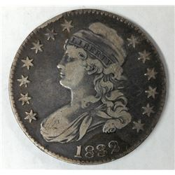 1832 Lettered Edge (Type 1) Capped Bust Liberty Half Dollar (Slightly Problematic)